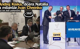 Andrej Kiska, dcéra Natália a oligarcha Chrenko! Trio začal prešetrovať výbor! (360°)
