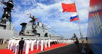 Tri čínske bojové lode smerujú do Ruska, kde sa zúčastnia na spoločných rusko-čínskych vojenských cvičeniach v Baltskom mori