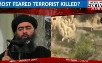 Nejhledanější terorista světa a vůdce Islámského státu zabit při rusko-syrském náletu?