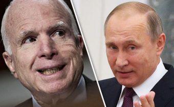 Putin řekl, co se mu líbí na McCainovi