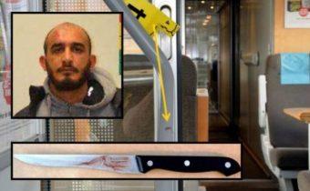 Migrant pobodal muže ve vlaku, jelikož se mu nelíbilo, že průvodkyně si od muslimky vyžádala jízdenku, prý to byl rasismus