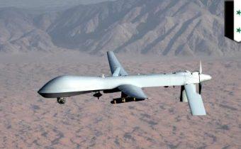 """K """"značné eskalaci"""" došlo, když syrský dron zaútočil na síly USA vedené koalice"""