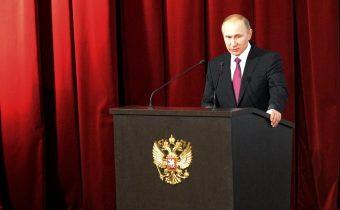 Putin: USA podporovaly teroristy v Čečensku
