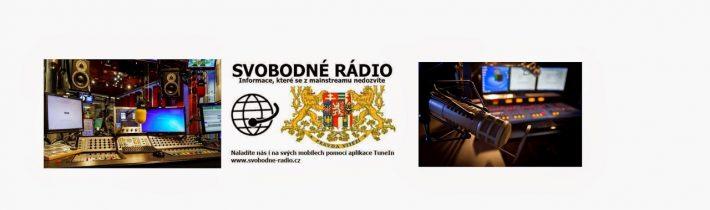 Svobodné rádio – Živé vysílání. Podpořte nás! Číslo účtu je uvedeno na našich stránkách