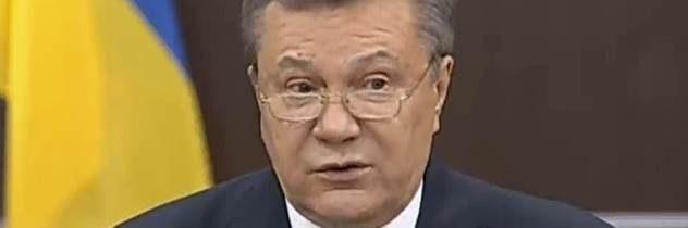 Z vlastizrady obvinený Janukovyč vyhlásil, že sa nezúčastní na procese s vopred jasným verdiktom
