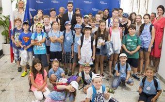 MZV: Rezort diplomacie navštívila detská delegácia