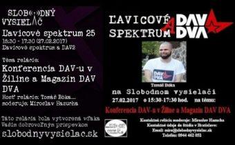 Ľavicové spektrum 26 – Konferencia DAV-u v Žiline a Magazín DAV DVA