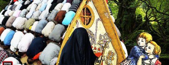 Islám má na Západě zelenou: Úcta vs. výkaly. Dvojí metr na cestě do pekel. Muslimská Pátá kolona. Hlavní média již plně v Mohamedových rukou? Sexy burka je podpultové zboží