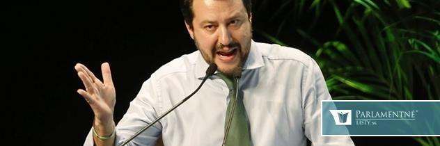 Salvini: Do talianskych vôd bez povolenia? Pokuta do 50.000 eur