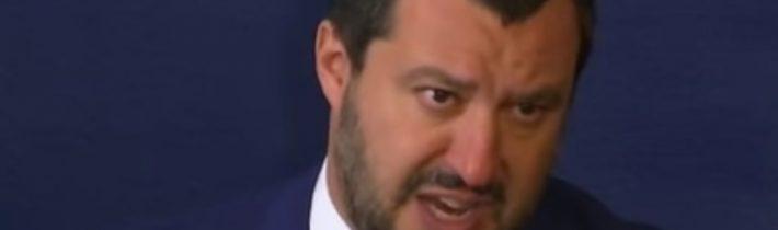 Salvini vyhrál! Italský Senát schválil nový zákon, který usnadní deportaci migrantů