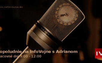Dopoludnie na InfoVojne s Adrianom 19.11.2018