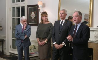 Demeš za účasti Korčoka a Dzurindu predstavil v USA knihu velebiacu spojenectvo Slovenska a Spojených štátov