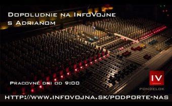 Dopoludnie na Infovojne s Adrianom 14.1.2019
