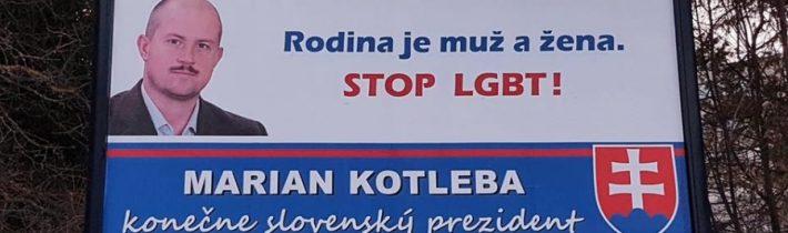Mimovládky žalujú ĽSNS a Kotlebu za prezidentské bilbordy