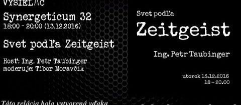 Synergeticum 32 – Svet podľa Zeitgeist
