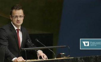 Maďarsko nesplní ani jeden bod Globálneho rámca OSN pre migráciu – a to ani napriek nátlaku, odkázal Szijjártó