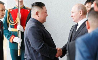 Stretnutie Kim Čong-una a Putina sa začalo, Kim ich rozhovory pokladá za zmysluplné