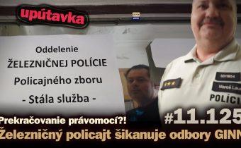 Železničný policajt Lauro šikanuje odbory GINN. Trest za transparentnosť. (short) #11.125