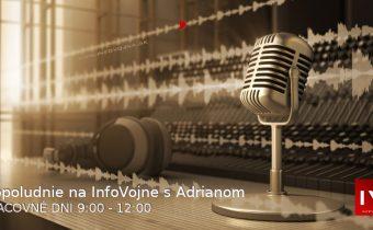 Dopoludnie na InfoVojne s Adrianom 25.6.2019