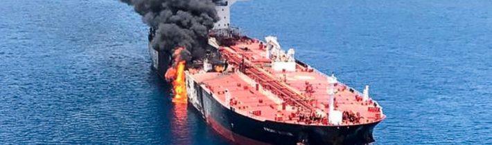 Japonský majiteľ napadnutého tankera poprel americkú verziu o útoku pomocou mín