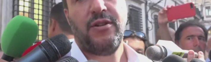 VIDEO: Salvini o konšpiráciách, že Liga Severu dostala peniaze z Ruska