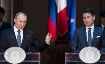 VIDEO: Putin ohľadne migračnej krízy a destabilizácie Líbye: Situáciu spôsobilo NATO a európske stíhačky
