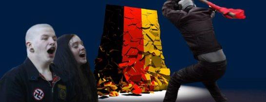 Německo už je ztraceno: Deprimující pohled za naši západní hranici. Kolik lidí stačí na převrat? Demokracie v troskách. Chvilkaři mohou závidět. Nepřátelské výsadky pro ovládnutí země. Trojí důležité poučení pro nás!