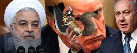 Válečná hrozba pro Persii: Odolá Trump mentálně retardovaným poradcům? Letadla USA už byla ve vzduchu. Čtyři dekády sankcí. Izrael popichuje a žmoulá roznětku. Teherán cení zuby. Ostatní volají po dialogu