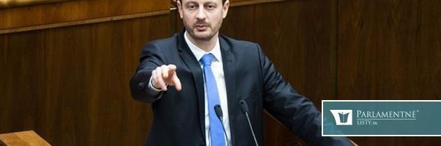 Kamenický mal celé leto behať po ministerstvách, odkazuje ministrovi Matovičov poslanec