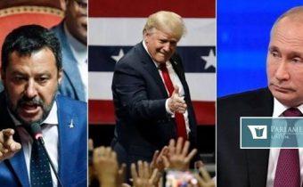 Alfasamec Trump, hrozivý Putin, mocenský Salvini. Takto známi politici klamú telom