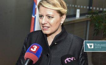 Čaputová sa bude demisiou Kalavskej zaoberať po tom, ako sa zotaví z choroby