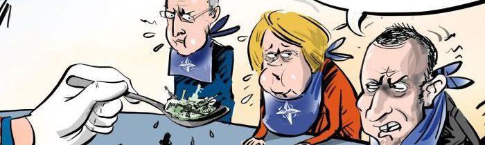USA překrmily NATO svými zbraněmi