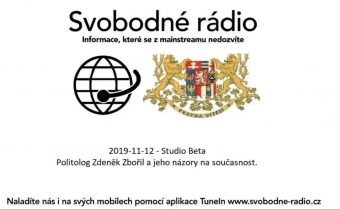 2019-11-12 – Studio Beta –  Politolog Zdeněk Zbořil a jeho názory na současnost.
