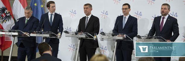 Pellegrini na stretnutí V4: Mochovce Slovensko dobuduje