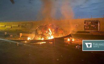 Hlasné dunenie v bagdadskej Zelenej zóne. Neďaleko americkej ambasády dopadlo viacero rakiet
