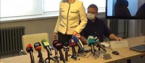 Tlačová konferencia ministerstva zdravotníctva 20. 3. 2020