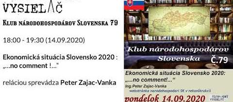 Klub národohospodárov Slovenska 79