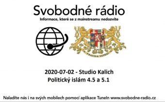 2020-07-02 – Studio Kalich – Politický islám 4.5 a 5.1