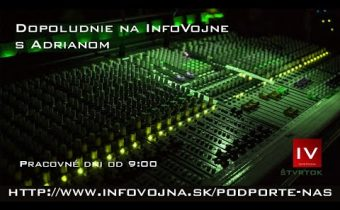 Dopoludnie na InfoVojne s Adrianom 29.10.2020