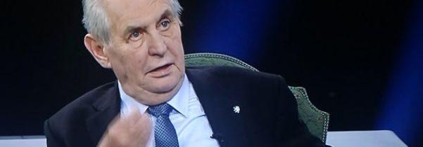 Zemanův vzkaz vznikajícím koalicím: Vládu bude sestavovat nejsilnější strana