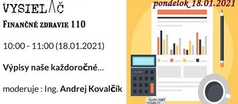 Finančné zdravie 110