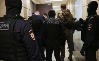 Plánované demonštrácie na podporu Navaľného ruská polícia potlačí. Začala zatýkaním kolegov opozičného politika