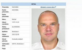 Čaká sa na podklady k žiadosti o vydanie Michala Suchobu na Slovensko