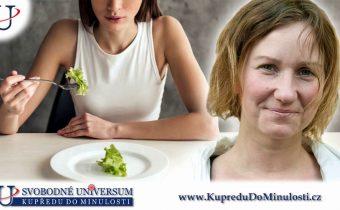 """Lenka Sobková 1. díl: Ženy si vytvářejí stres i stravováním – nejí maso a další """"nezdravé"""" potraviny"""