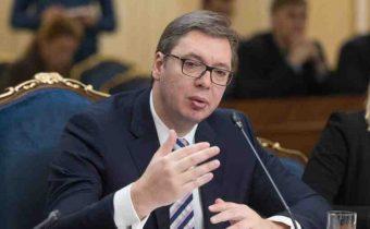 Srbský prezident žiada Rusko o podporu v otázkach Kosova a Metochije