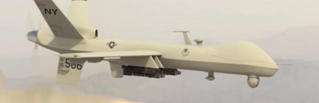 Americké drony vykonali nálety v Sýrii