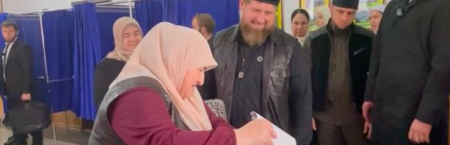 Kadyrov vysvetlil vysokú účasť na voľbách v Čečensku